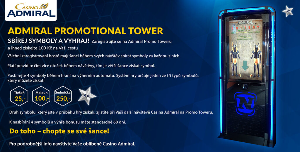 Admiral Promo Tower cz