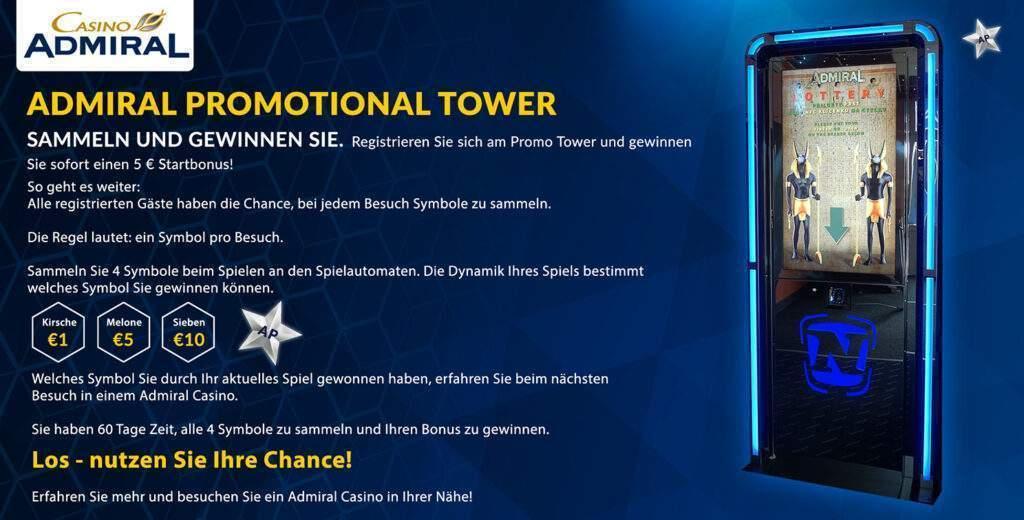 Admiral Promo Tower de