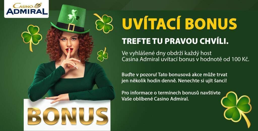Welcome Bonus cz